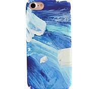 Для яблока iphone 7 7 плюс 6s 6 плюс чехол для крышки цветной цветной узор наклейки для ухода за кожей touch pc material phone case