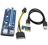 USB 3.0 Cabo de extensão, USB 3.0 to USB 3.0 Cabo de extensão Macho-Fêmea 0.6m (2 pés)