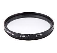 Andoer 52mm filter set uv cpl star 8-точечный набор фильтров с футляром для камеры canon nikon sony dslr