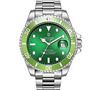 Муж. Спортивные часы Часы со скелетом Модные часы Механические часы Китайский С автоподзаводомКалендарь Защита от влаги Светящийся