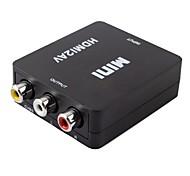 HDMI 1.3 Конвертер, HDMI 1.3 to 3RCA Конвертер Male - Female