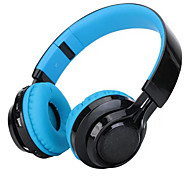 WT-07 Folding Wireless Bluetooth Stereo Headphones Adjustable Headsets with 3 LED Lights Supports Micro TF Card FM Radio