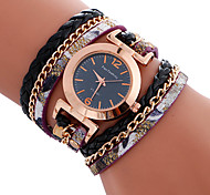 Fashion Casual Unique Luxury Leather Band Watches Ladies Quartz Watch Women Wristwatches Relogio Feminino Bracelet Watch