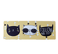 Cool Cat Mouse Pad Waterproof Cartoon Style Cloth Gaming Mouse Pad 40CM*90CM