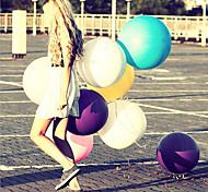 1шт 36 дюймов большой шарик латексных шаров тяжелая свадьба свадьбы, чтобы украсить шарик цвет случайных