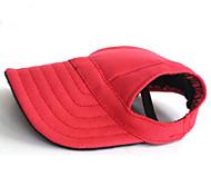 Коты Собаки Банданы и шляпы Красный Синий Черный Одежда для собак Лето Весна/осень Однотонный Праздник