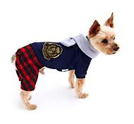 Собака Комбинезоны Одежда для собак На каждый день Английский