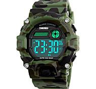 SKMEI Муж. Спортивные часы Армейские часы Модные часы Наручные часы электронные часы Японский ЦифровойLED Календарь Защита от влаги С