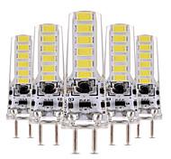 4W Двухштырьковые LED лампы T 12 SMD 5730 300-400 lm Тёплый белый Холодный белый Декоративная Диммируемая AC 12 V 5 шт.
