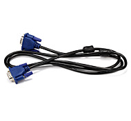 VGA Cable, VGA to VGA 3.5mm Cable Male - Male 1.5m(5Ft)