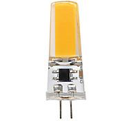 3W Luces LED de Doble Pin T 1 COB 300 lm Blanco Cálido Blanco V 1 pieza