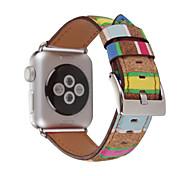 Leder Sport Band Für Apple Uhr