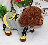 Собака Толстовки Одежда для собак Спорт Американский / США