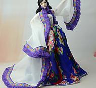 Юбки и платья Платье Для Кукла Барби Пальто Платье Для Девичий игрушки куклы