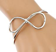 Жен. Браслеты-цепочки и звенья Браслет цельное кольцо Браслет разомкнутое кольцо Мода Rock Готика бижутерия Металлический сплав Позолота