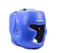Головной убор Боксерские шлемы Тхэквондо Бокс Аэробика и фитнес Санда Бои без правил Тайский боксВоздухопроницаемый Ударопрочный С