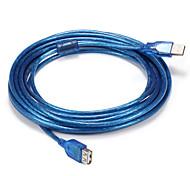USB 2.0 Кабель-переходник, USB 2.0 to USB 2.0 Кабель-переходник Male - Male 5.0m (16ft)