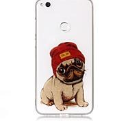 Чехол для huawei p9 lite p8 lite чехол чехол собака рисунок высокая проницаемость tpu материал imd технология флеш-накопитель телефон