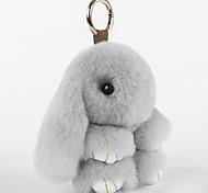 Подвеска на сумку / телефон / брелокй Мультфильм игрушки Мех кролика