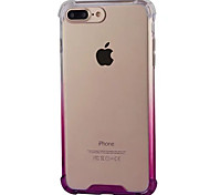 Чехол для Apple iphone 7 7 плюс градиент крышки чехла четыре угла падение акриловая объединительная плата корпус корпуса корпус корпус