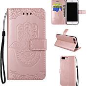 Случай для яблока iphone 7 7 плюс iphone 6s 6 плюс крышка случая пальма картины pu кожаные случаи для iphone 5s 5 se