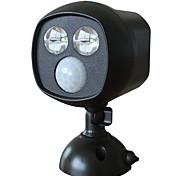 Doodda hw101s-2 2led лампа наружный инфракрасный внутренний двор датчик света свет солнечного света ночь водонепроницаемый