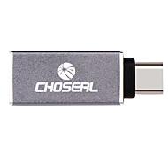 USB 2.0 Тип C Адаптер, USB 2.0 Тип C to USB 3.0 Адаптер Male - Female