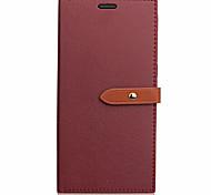 Чехол для huawei p8 lite (2017) p10 lite чехол чехол новый прекрасный пряжка pu материал сплошной цвет телефон для бизнеса кожаный телефон