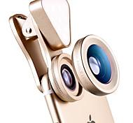 Черлло 035 объектив для телефона широкоугольный объектив макро объектив алюминиевый 15x светодиодный свет сотовый телефон объектив