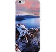 Случай для яблока iphone 7 7 плюс крышка случая крышки картина hd покрасила более толстый материал tpu мягкий случай случая телефона для