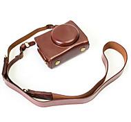 Dengpin pu кожаный чехол для камеры сумка для panasonic dmc-lx10gk-k lx10 (различные цвета)