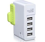 On hou1440g uk plug au plug phone usb charger fast charge power strips 4 порта USB 4a ac 100v-240v