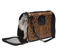 Кошка Собака Переезд и перевозные рюкзаки Животные Корзины Компактность Дышащий Коричневый Ткань