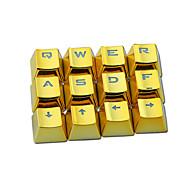 E-element металлическая текстура keycap прозрачная pbt 12 клавиш покрытие keycap комплект для механической клавиатуры