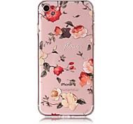 Чехол для iphone 7 7plus чехол для крышки роз узор tpu материал устойчивый к царапинам корпус для телефона для iphone 6s 6 6plus 6s плюс 5
