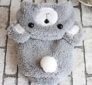 Собака Костюмы Одежда для собак Косплей Носки детские Серый Коричневый