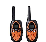2pcs миниой рации talkie дети радио 1w uhf частота портативный hf приемопередатчик ветчина радио детей подарок