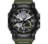 Муж. Спортивные часы Армейские часы Модные часы электронные часы Японский Кварцевый Календарь Секундомер Защита от влаги Хронометр
