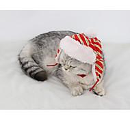 Кошка Банданы и шляпы Одежда для собак Сохраняет тепло Полоски полоса сетка