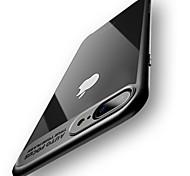 Чехол для iphone 7 плюс 7 полностью защитная силиконовая акриловая прозрачная задняя крышка 6 плюс 6