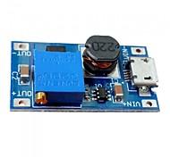 Dc-dc 2a регулируемый модуль усиления micro usb dc монтажная плата