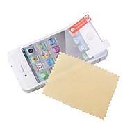Protector de Pantalla para iPod Touch 4, con Tela de Limpieza