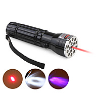 LED Flashlights/Torch LED 3 Mode 200-400 Lumens Small Size Others 10440 / AAA Everyday Use - Others , Black Aluminum alloy