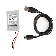 PS3 무선 dualshock 컨트롤러에 대한 대체 1800mah 리튬 배터리 팩