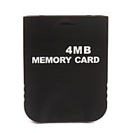 Tarjeta de memoria de 4 MB para wii gc