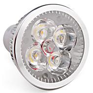 Faretti 4 LED ad alta intesità MR16 GU10 4 W 360 LM K Bianco caldo AC 85-265 V