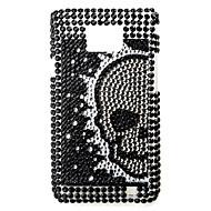 Skeleton Pattern Protective Case for Samsung i9100 (Black)