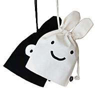 Cute Smilling Face Travel Storage Bag (Random Color)