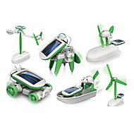 Solar Powered Gadgets Plastic Green Boys / Girls