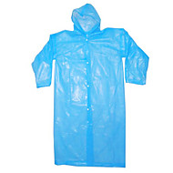 wegwerp plastic regenjas